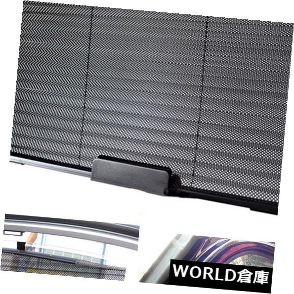 USサンバイザー 車プリーツ格納式サイドウィンドウ日よけカーテンローラーブラインド日よけ Car Pleated Retractable Side Window Sun-shading Curtain Roller Blind Sun Shades