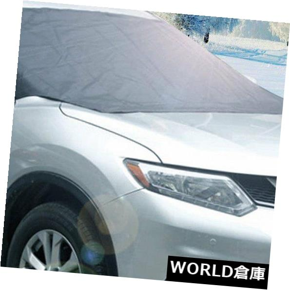 USサンバイザー 車のアイスプロテクターバイザーサンシェードフロントリアフロントガラスカバーブロックシールドEJ Car Ice Protector Visor Sun Shade Fornt Rear Windshield Cover Block Shields EJ