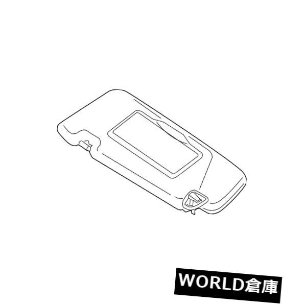 USサンバイザー 本物の日産サンバイザー96401-1AA1B Genuine Nissan Sun-Visor 96401-1AA1B
