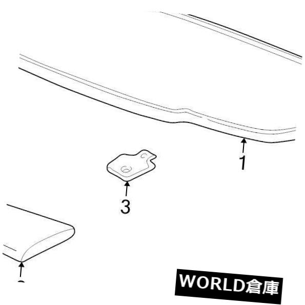 USサンバイザー ブランド新製品GM OEM SUN VISOR#10334052 BRAND NEW GENUINE GM OEM SUN VISOR #10334052