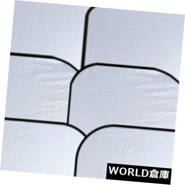 USサンバイザー 6本の車の窓の日よけの折り畳み式フルシールドフロントガラスバイザーブロックカバーツール 6Pcs Car Window Sun Shade Foldable Full Shield Windshield Visor Block Cover Tool