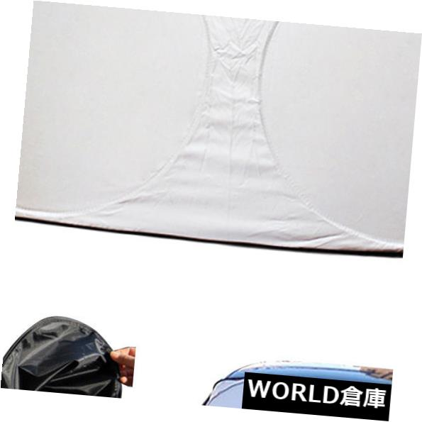 USサンバイザー 1セットフロントガラス車の窓折りたたみサンシェードシールドカバーバイザー高品質 1 set Windshield Car Window Foldable Sun Shade Shield Cover Visor High Quality