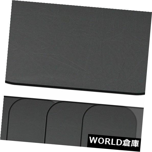 USサンバイザー 取り替えの日よけの日よけのプライバシー網の黒5pcsのキットの風防ガラスの反射 Replacement Sunshade Sun Visor Privacy Mesh Black 5pcs Kit Windshield Reflective