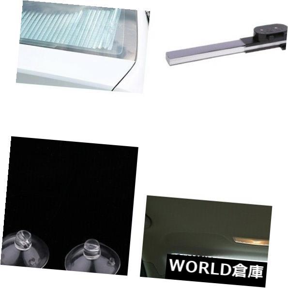 USサンバイザー 2本の車の伸縮自在の太陽の盾のカーテンブロックの紫外線保護カバー引き込み式 2pcs Car Telescopic Sun Shield Curtain Block UV Protection Cover Retractable