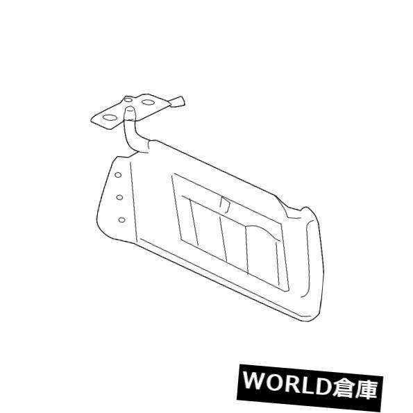 USサンバイザー OEM GMインテリア助手席側サンバイザーシェード06-10ハマーH3 09-10ハマーH3T OEM GM Interior Passenger Side Sun Visor Shade 06-10 Hummer H3 09-10 Hummer H3T