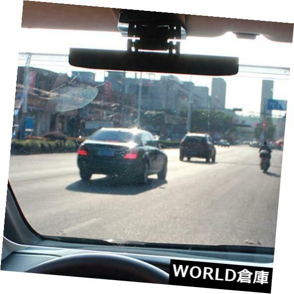USサンバイザー 車アンチグレアまぶしいゴーグルウインドシールドエクステンダサン&アンプ UV光線ブロックバイザー Car Anti-Glare Dazzling Goggle Windshield Extender Sun & UV Rays Block Visor