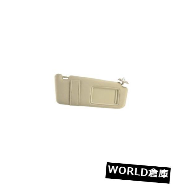 USサンバイザー トヨタプリウス04ベース1.5L L4助手席右サンバイザーアイボリー純正 For Toyota Prius 04 Base 1.5L L4 Passenger Right Sun Visor Ivory Genuine