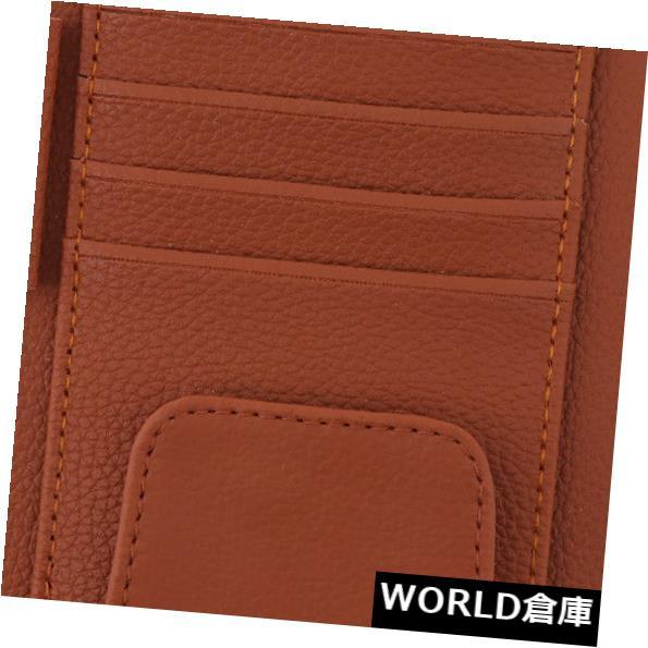 USサンバイザー 車のサンバイザーオーガナイザーポーチバッグメガネチケット、領収書、カードホルダークリップ Car Sun Visor Organiser Pouch Bag Glasses Ticket Receipt Card Holder Clip