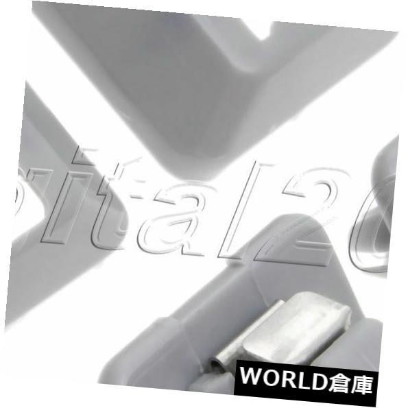 USサンバイザー パサートポロUPラピッド12-15 6R0 857 561 Y20のための2PCSグレーサンバイザークリップ 2PCS Gray Sun Visor Clip For Passat Polo UP Rapid 12-15 6R0 857 561 Y20