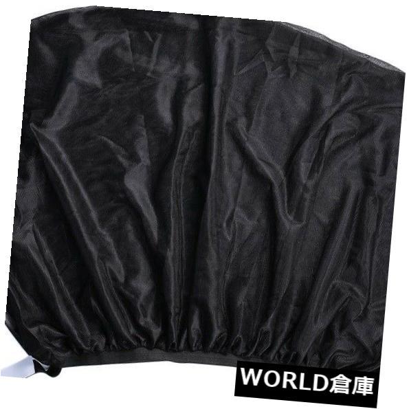 USサンバイザー ホット2本の調節可能な車の窓の日よけUV保護シールドメッシュカバー Hot 2Pcs Adjustable Car Window Sun Shades UV Protection Shield Mesh Cover