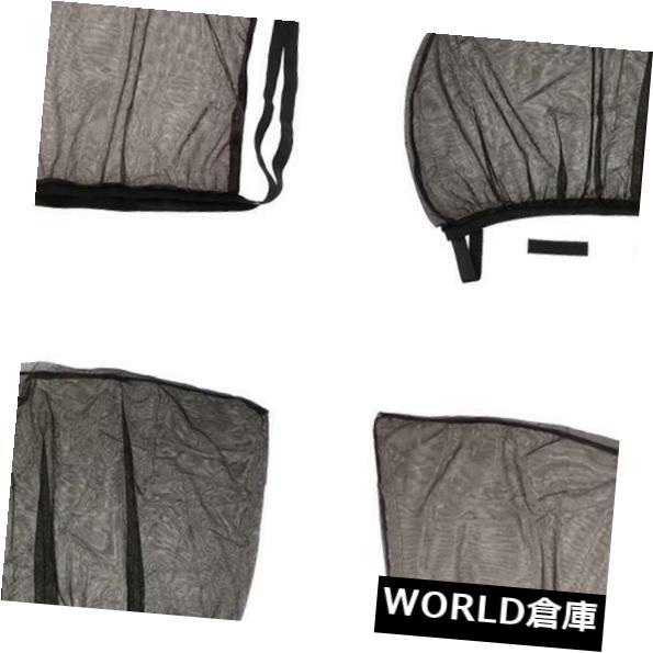 USサンバイザー 1セット車のサイドウィンドウ断熱カーテン紫外線保護メッシュカバー100×54センチ 1 Set Car Side Window Heat Insulation Curtain UV Protect Mesh Cover 100x54cm