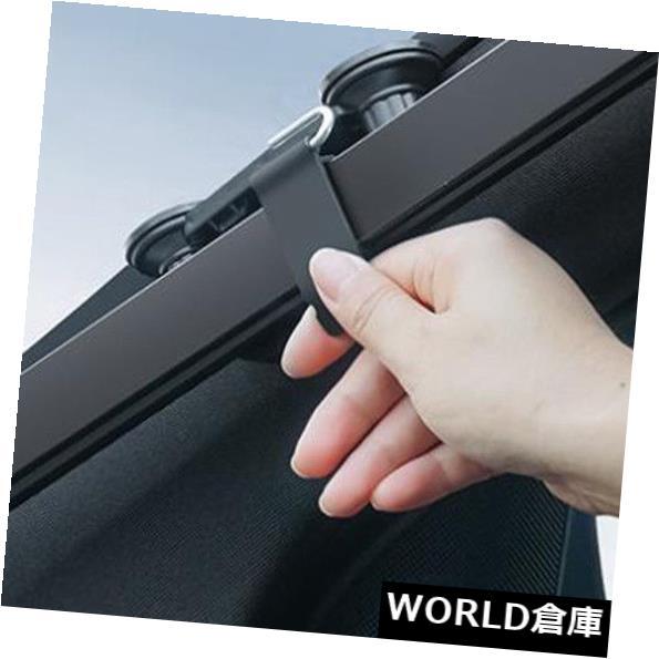 USサンバイザー 簡単インストール安全日焼け止めUV保護シールドカバーオートグレー Easy Install Safety Sun Insulation UV Protection Shield Cover Auto Gray