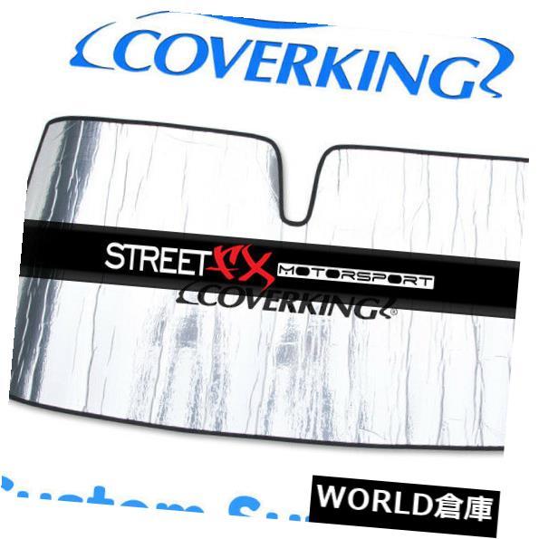 USサンバイザー Kia Sedona用カバーガラスカスタム日よけ/シールド Coverking Custom Windshield Sun Shade / Shield for Kia Sedona