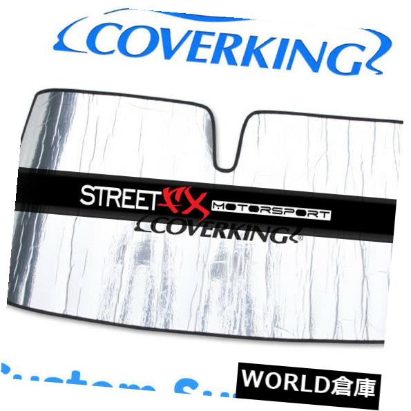 USサンバイザー Kia Cadenza用カスタムフロントガラス日よけ/シールド Coverking Custom Windshield Sun Shade / Shield for Kia Cadenza