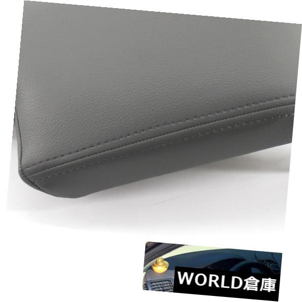 Leather Armrest Console Lid Cover Skin for BMW E46 3 Series 99-04 Black LHD