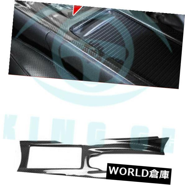 コンソールボックス 日産R35 GTRレーシングスタイリングカーボンファイバーセンターコンソールカバーLHD xza87用  For Nissan R35 GTR Racing Styling Carbon Fiber Center Console Cover LHD xza87