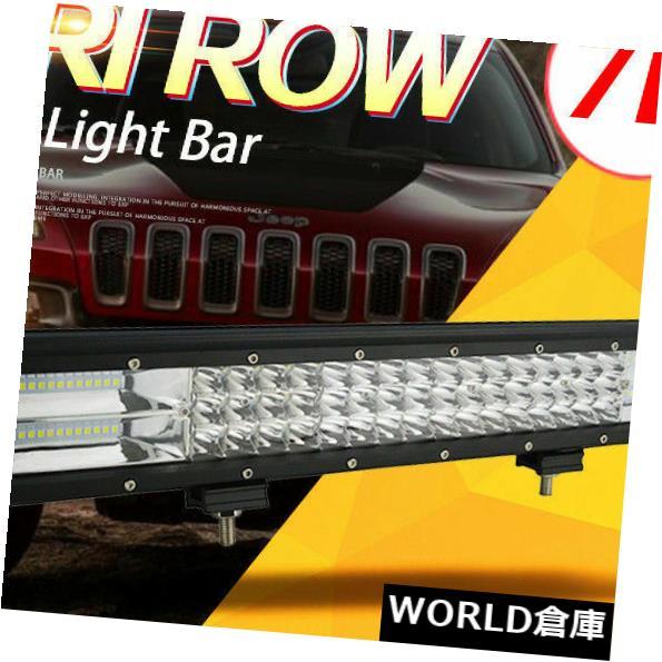 LEDライトバー 7 D + 3行20 '' 288 WコンボLEDワークライトバースポットフラッド用ジープトラックボート20インチ 7D+3Row 20'' 288W Combo LED Work Light Bar Spot Flood for Jeep Truck Boat 20inch