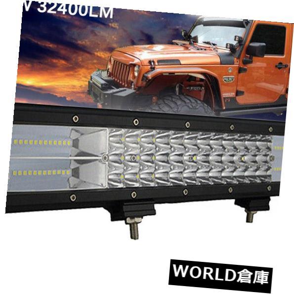 LEDライトバー 20インチ7D 288W LEDライトバーフラッドスポット作業運転オフロード4WDトラックAtv UtE 20 INCH 7D 288W LED Light Bar Flood Spot Work Driving Offroad 4WD Truck Atv UtE