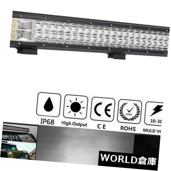 360W SUV 26inch Flood LEDワークライトバーフラッドスポットコンボドライビングフォグランプオフロードSUV Spot Light Driving Work Bar Lamp Combo LED Offroad 26インチ360W 4WD Fog LEDライトバー 4WD