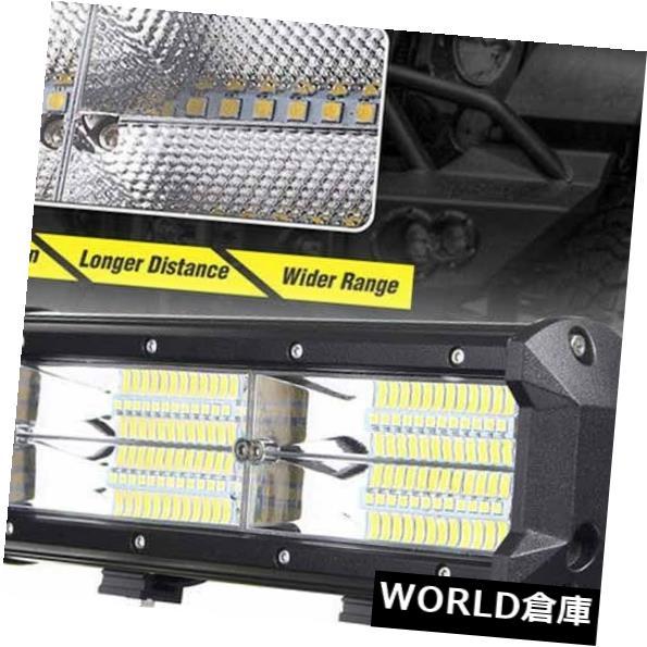LEDライトバー 12V 216W 21600LM 8 D LEDワークライトバー洪水ドライビングランプSUV ATVオフロード4WD 12V 216W 21600LM 8D LED Work Light Bar Flood Driving Lamp SUV ATV Offroad 4WD