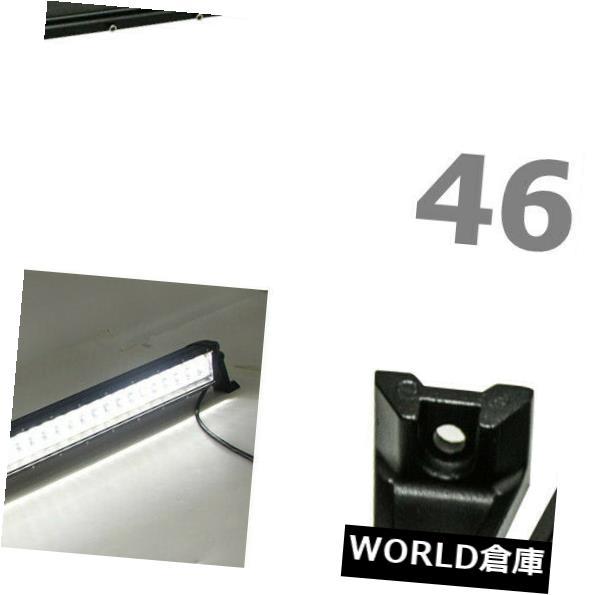 LEDライトバー 46インチ210WクリーLEDライトバースポットオフロードジープトラックフラッシュストロボランプバンパー 46inch 210W CREE LED Light Bar Spot Offroad JEEP Truck Flash Strobe Lamp Bumper