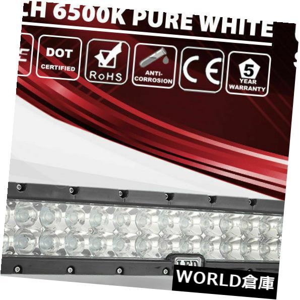 LEDライトバー 道の運転を離れた前部バンパーの雄牛バーのための22インチ400wのクリー族LEDの点のライトバー 22 Inch 400w CREE LED Spot Light Bar for Front Bumper Bull Bar Off Road Driving