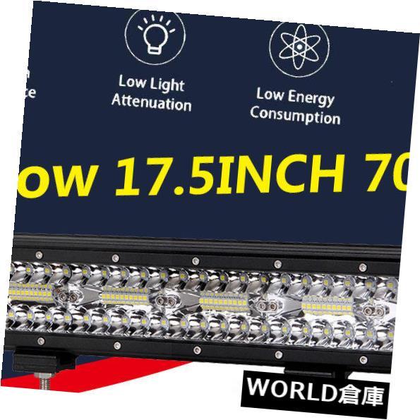 LEDライトバー 列の運転のトラック車を離れてコンボ18IN 840W LEDのライトバーの仕事の三列の点の洪水 18IN 840W LED Light Bar Work Tri Row Spot Flood Combo Off Row Driving Truck Car
