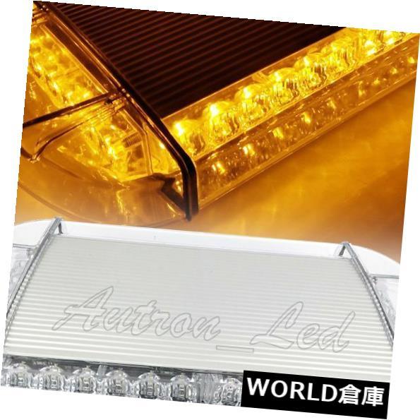 LEDライトバー 14 36W琥珀色LED警告緊急ビーコンルーフトップシグナルワークストロボライトバー 14 36W Amber LED Warning Emergency Beacon Roof Top Signal Work Strobe Light