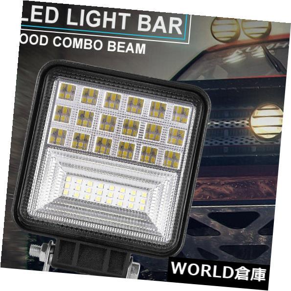 LEDライトバー オフロード4WD SUVの運転ランプのための126W 6000K LEDの仕事のライトバーの洪水の点ビーム 126W 6000K LED Work Light Bar Flood Spot Beam For Offroad 4WD SUV Driving Lamp