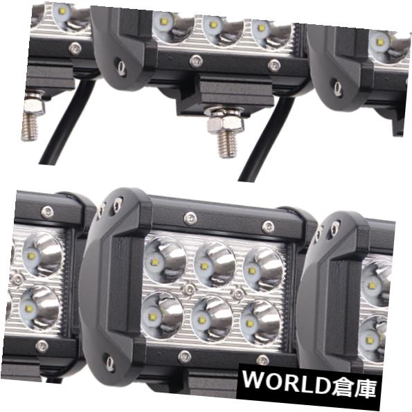 LEDライトバー 10ピース18ワットクリーledワークライトバースポットビーム駆動用ボートsuv uteトラックランプ 10pcs 18W CREE LED Work Light Bar Spot Beam Driving For BOAT SUV UTE Track Lamp