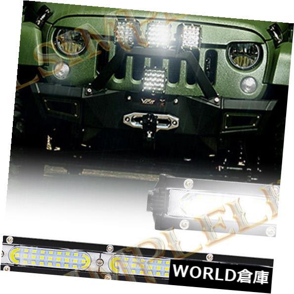 <title>車用品 バイク用品 >> パーツ 外装 販売 エアロパーツ その他 LEDライトバー 32インチ90WスリムクリーLEDライトバー作業洪水ビームトラックATV SUV 4WD車12V 24V 32inch 90W SLIM CREE LED Light Bar Work FLOOD Beam Truck ATV 4WD Car 12V</title>
