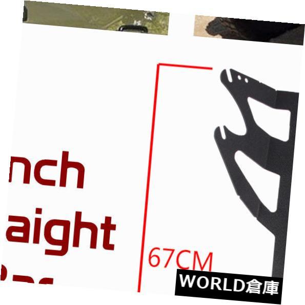 LEDライトバー 07-18ジープJKラングラーマウントブラケットフィットカーブ/ Stragih  t 50
