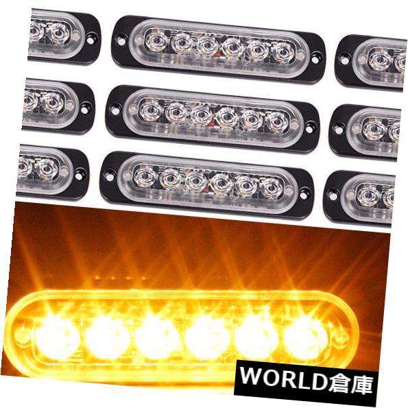 LEDライトバー 12ピース18ワットスポット6 ledブライトライト作業バー運転霧オフロードsuv車ボートランプ 12 Pcs 18W Spot 6LED Bright Light Work Bar Driving Fog Offroad SUV Car Boat Lamp
