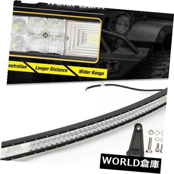 LEDライトバー 16インチ432Wトライ列7D LED作業ライトバースポット洪水コンボオフロードSUV ATV 4WD 16inch 432W Tri Row 7D LED Work Light Bar Spot Flood Combo Offroad SUV ATV 4WD