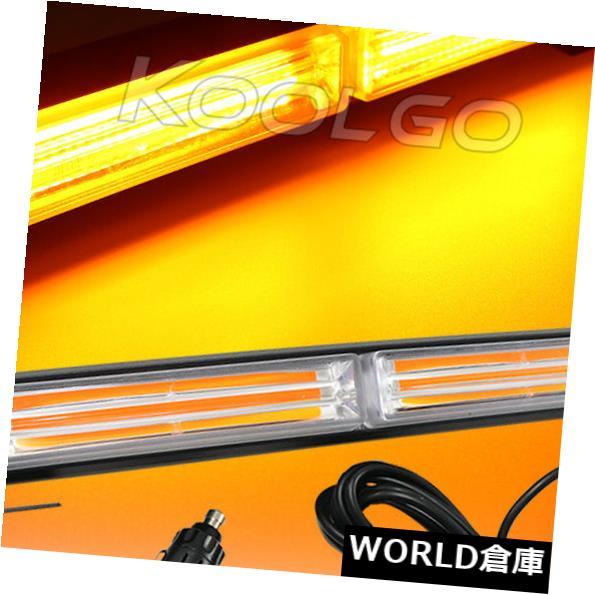 LEDライトバー 36W穂軸LED緊急ハザード警告フラッシュストロボビーコンライトバーアンバー12 / 24V 36W COB LED Emergency Hazard Warning Flash Strobe Beacon Light Bar Amber 12/24V