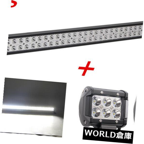 LEDライトバー 42インチ240WフィリップスLEDオフロードライトバー+ 4