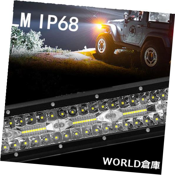 LEDライトバー 道の運転のトラック4WDランプ6000Kを離れた15インチ300W 30000LM LEDのライトバーの洪水の点 15inch 300W 30000LM LED Light Bar Flood Spot Offroad Driving Truck 4WD Lamp6000K