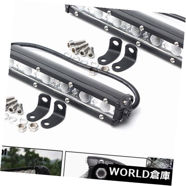 LEDライトバー 2x 36W 7インチLEDワークライトバースポットドライビングフォグライトオフロードSUVトラック6000 KJR 2x 36W 7inch LED Work Light Bar Spot Driving Fog Ligh Off Road SUV Truck 6000KJR