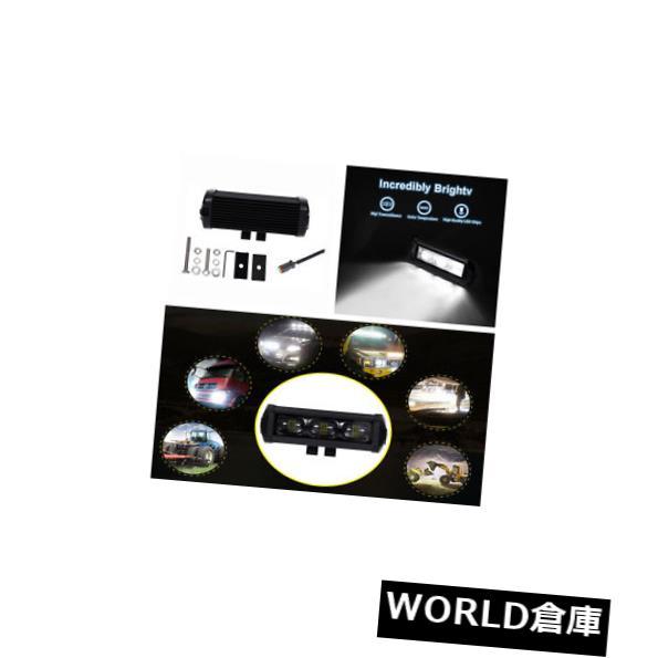 LEDライトバー 普遍的な7インチ60W LEDワークライトバースポットドライビングフォグランプ防水 Universal 7inch 60W LED Work Light Bar Spot Driving Fog Lamp Offroad Waterproof