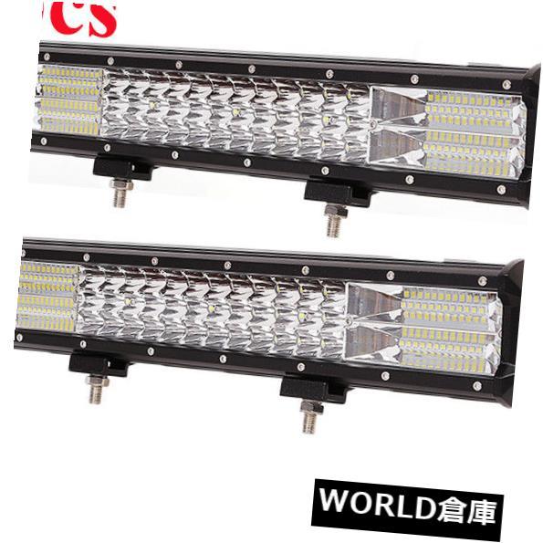 20インチ288W 288W UTV UTVトラックオフロード車はライトバー126Wを導きました TriRows led LEDライトバー Beam 2x TriRowsコンボビームATV offroad 2x truck 20inch 126W bar ATV car Combo light