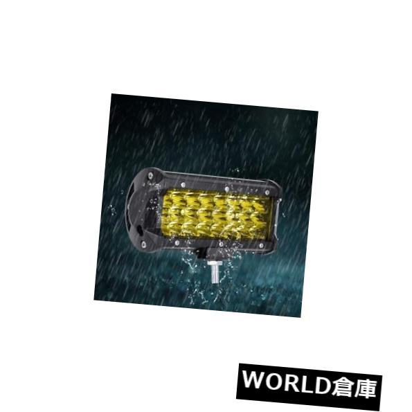 LEDライトバー 10800LM / PCS 144W LEDのライトバーの洪水点は道のドライビングランプの黄色#eを離れて働きます 10800LM/PCS 144W LED Light Bar Flood Spot Work Off Road Driving Lamp Yellow #e