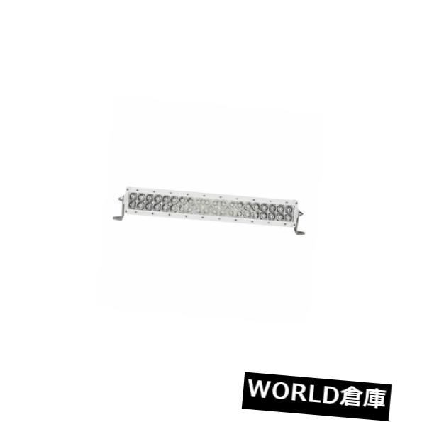 LEDライトバー Rigid Industries 820213 - Eシリーズプロ20インチスポット/フラッドLEDライトバーコンボホワイト Rigid Industries 820213 - E Series Pro 20