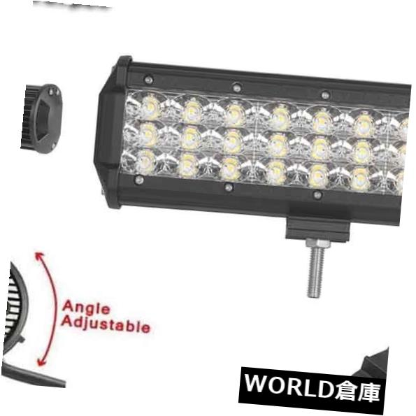 LEDライトバー 三列9インチ135Wは仕事のライトバーの洪水のビーム4WDオフロード車の運転ランプを導きました Tri-Row 9Inch 135W Led Work Light Bar Flood Beam 4WD Off-Road Car Driving Lamp