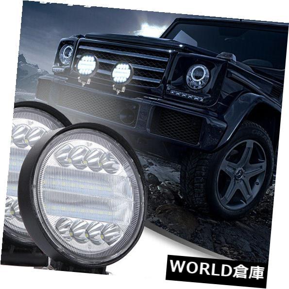 LEDライトバー 4X 72W 4インチLEDワークライトバーコンボビームオフロードランプ用トラックジープ車 4X 72W 4inch LED Work Light Bar Combo Beam Offroad Lamps For TRUCK JEEP Car