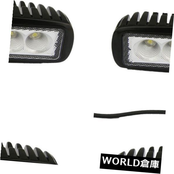 LEDライトバー 4×6インチ18ワットled作業ライトバーオフロード洪水ランプatv 4ワットDRL単一行12ボルト24ボルト 4X 6inch 18W LED Work Light Bar Offroad FLOOD Lamp ATV 4WD DRL Single Row 12V24V