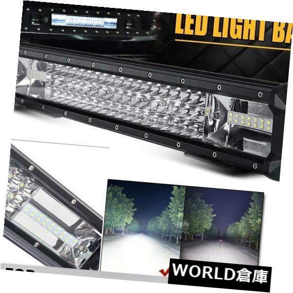 LEDライトバー 20インチ540W 6000k 90 LEDスポットフラッドコンボLEDワークライトバーオフロードATV SUV PT 20inch 540W 6000k 90 LED Spot Flood Combo LED Work Light Bar Offroad ATV SUV PT