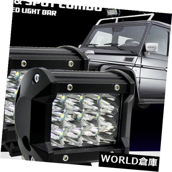 LEDライトバー オフロードSUVボートジープのための4インチ36W 3列12 LED作業ライトバーフラッドランプIP67 4inch 36W 3-Row 12 LED Work Light Bar Flood Lamp IP67 for Off-road SUV Boat Jeep