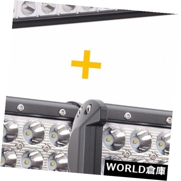 LEDライトバー 22インチ120WフィリップスLEDライトバーコンボオフロードジープSUV + 4インチ18WスポットポッドUTE 22inch 120W Philips LED Light Bar Combo Offroad Jeep SUV+4inch 18W Spot Pods UTE