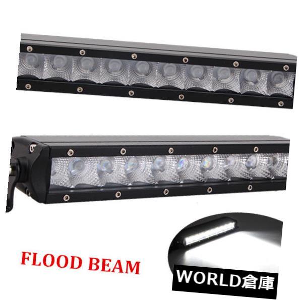 LEDライトバー 2ピース11インチ50ワットled作業ライトバー洪水単一行オフロードフォグランプ4ワット12 v 24ボルト 2PCS 11Inch 50W LED Work Light Bar Flood Single Row Offroad Fog Lamp 4WD 12V24V
