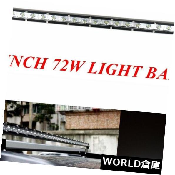 LEDライトバー 26インチ72Wのオフロードボート4WDのトラックSUVのための細い点LEDのライトバーの運転ランプ 26 Inch 72W Slim Spot LED Light Bar Driving Lamps For Offroad Boat 4WD Truck SUV